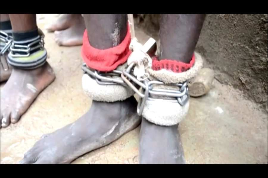 Over 300 boys and men found chained, beaten in alleged Islamic School