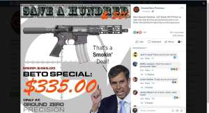 Gun Stores Across US Hold 'Beto Sales' after Dem Vows to Confiscate Firearms
