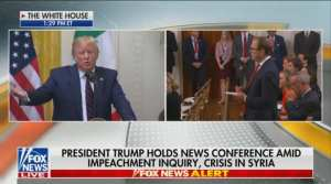 ABC cuts Trump destroying their reporter over Fake News from coverage
