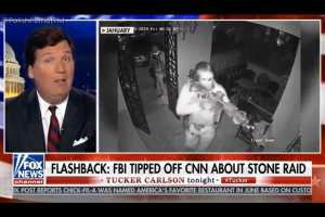 Carlson calls out Feds for being harder on Stone than Epstein