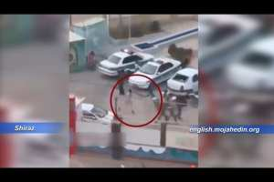 WATCH: Iranian Security forces beat protestors