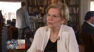 Warren's brother 'furious' after she tells lies about her father