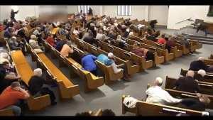 WATCH: Armed Parishioner stops church shooting