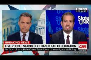 "Tapper: Attacks on NY Jews done by ""people of color"" not ""white supremacists"""