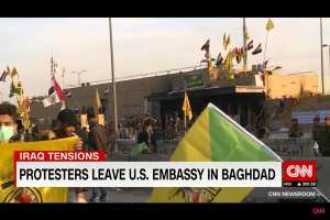 US Iraq embassy tells US citizens to depart immediately