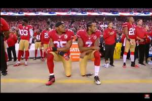 "Kaepernick: ""nothing new about American terrorist attacks against Black and Brown people"""