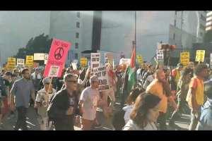 Anti-war protester memorializes Qassem Soleimani