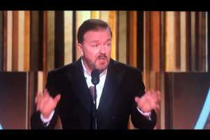 "Ricky Gervais bashes celebs at globes: ""You know nothing about the real world"""