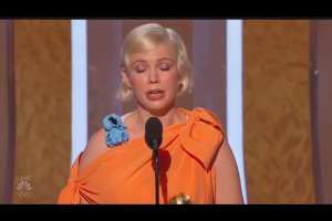 Williams pushes Abortion from stage of Golden Globes
