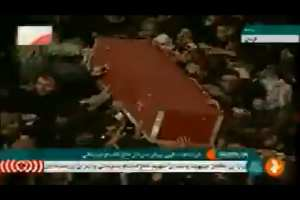 "Iranians carry Soleimani casket to grave shouting: ""Death to America"""