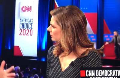 Did CNN get caught coaching Town Hall crowd?