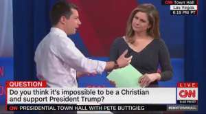 """CNN: """"Do you think it's impossible to be a Christian and support President Trump?"""""""