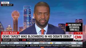 "CNN's Sellers: ""Donald Trump will destroy Michael Bloomberg if last night is any example"""