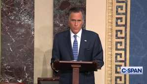 "Romney: Dems ""standing in the way of a critically needed rescue package"""