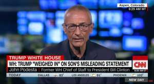 John Podesta loses it after Trump's tweet about corrupt brother