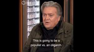 """Bannon: Bloomberg """"oligarch"""" who is """"buying the Democratic Party"""""""