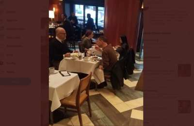 Never-Trump Rick Wilson spotted at lunch with Peter Strzok