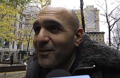 """NYU professor behind group that attacked Subways, spray-painted """"F*ck Cops"""" on walls"""