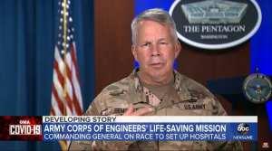 US Army Corps to build as many 341 Chinavirus hospitals