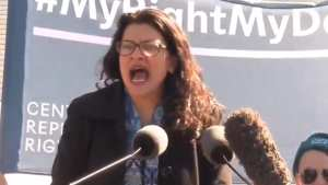 Tlaib had a meltdown at Abortion rally: you shouldn't even want to have sex with me!