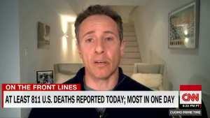 CNN's Cuomo reveals he has Chinavirus