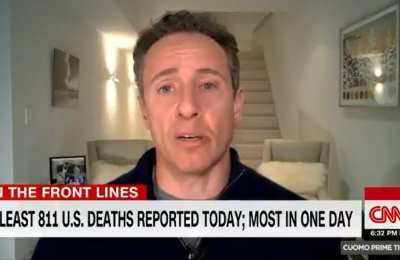 CNN's Cuomo reveals he has Chinavirus