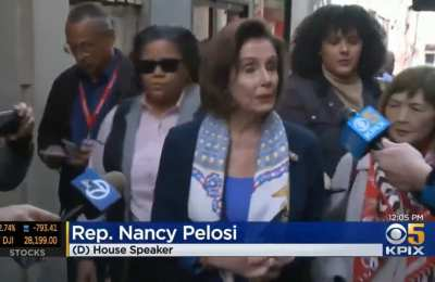 Pelosi told Americans to visit Chinatown on Feb 24th amid Chinavirus outbreak