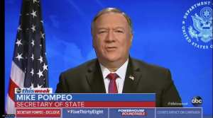 "Pompeo says there's ""enormous evidence"" that Chinavirus came from lab"