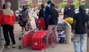 Widespread Looting and Vandalism In Minneapolis After George Floyd Death, No Police