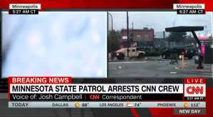 3 Of 4 CNN Employees Detained Were White Yet CNN Pushes Race-Baiting Narrative