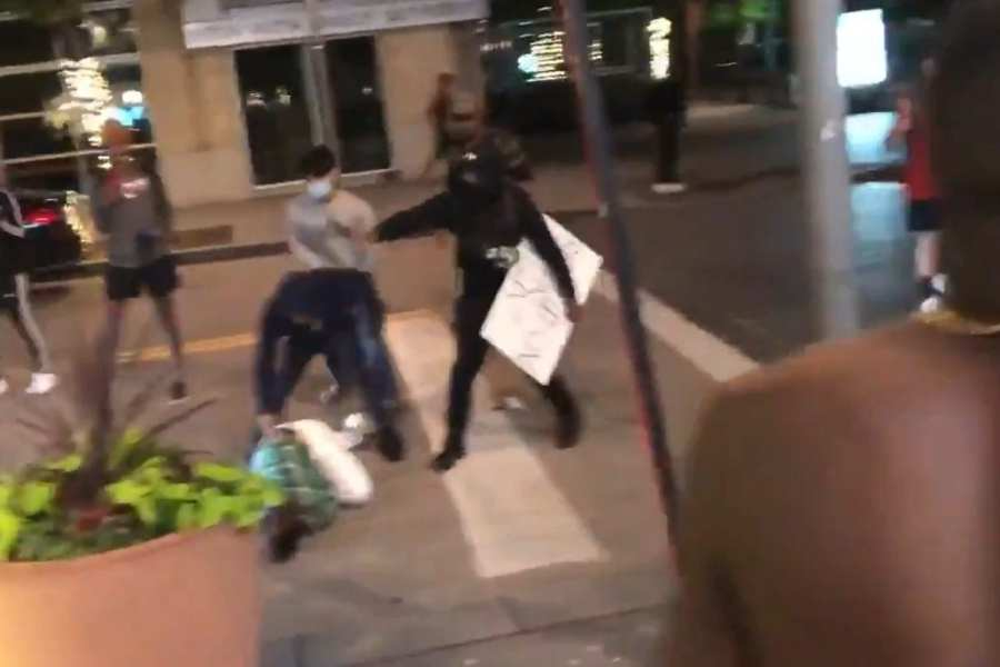 WATCH: Business Owner Beat With Skateboard, Stoned For Protecting Business