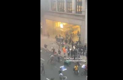 WATCH: Philly Apple Store Cleaned Out By Looters