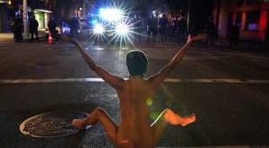 Media Praised Woman Who Protested Naked Is A Sex Worker