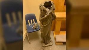 Jesus Statue Decapitated In Florida