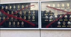 LAPD Memorial For Fallen Officers Defaced