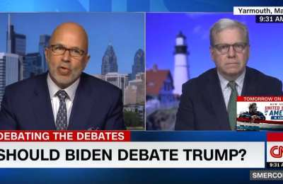 CNN Analyst: Biden Shouldn't Debate Trump