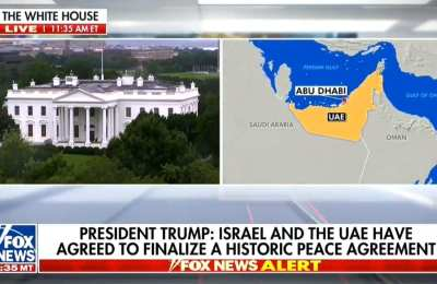 Fox News: Abraham Accord Is A Massive Win For The Trump Admin
