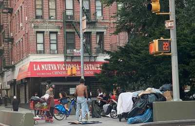 NYC: Homeless Terrifying Residents, Urinating, Sleeping And Taking Drugs In The Street