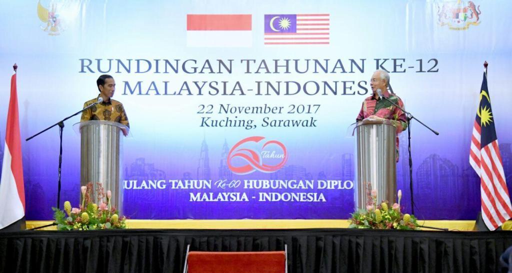Indonesia Malaysia Jokowi