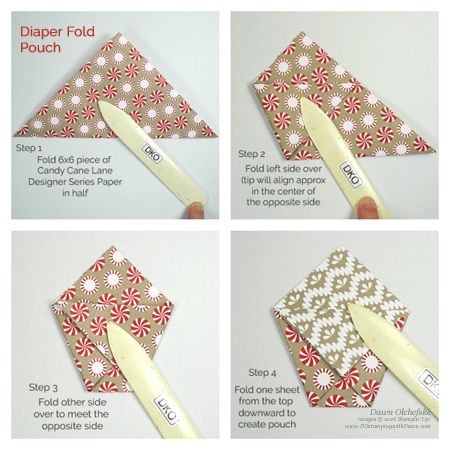a visual from Dawn Olchefske on how to make this simple fold