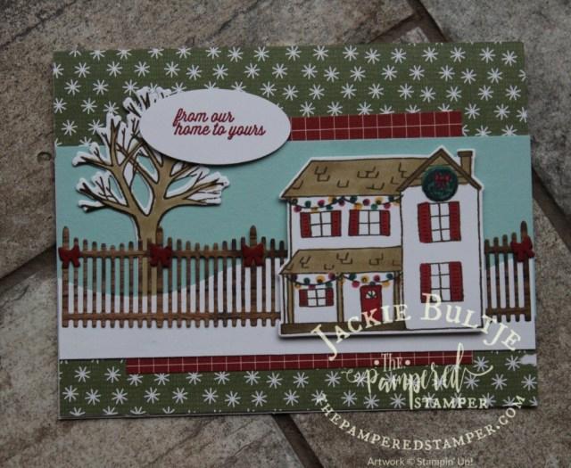 Festive Farmhouse swap card