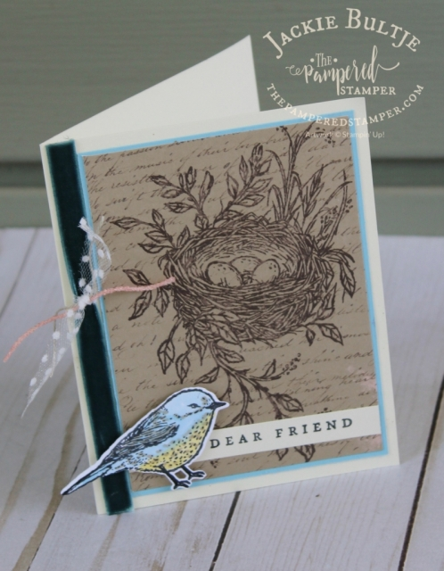 Best Birds combines with May 2019 Paper Pumpkin for a beautiful alternative.