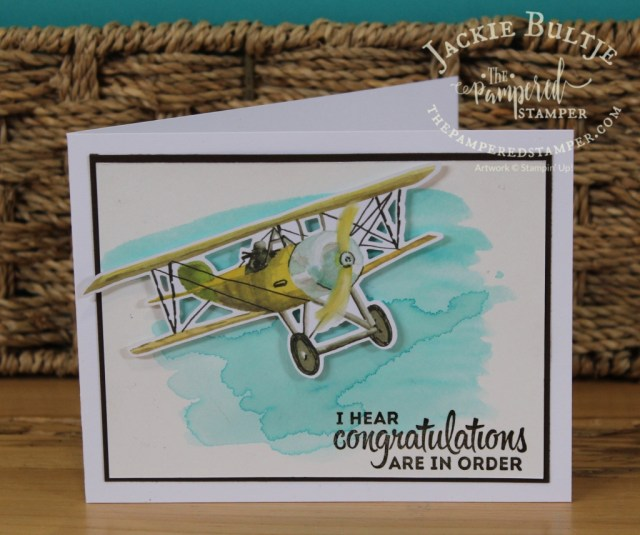 Another bonus card using the extra die cuts in the Looking Up card kit.