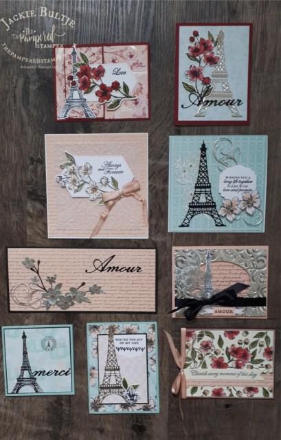 Parisian Blossoms tutorial