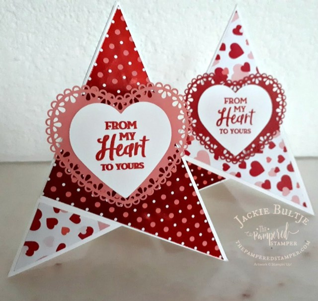 From My Heart Teepee cards