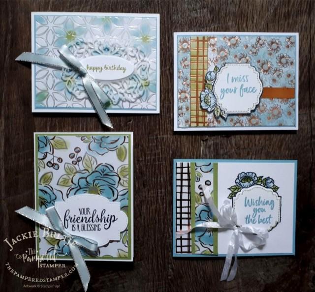 Flowering Foils cards