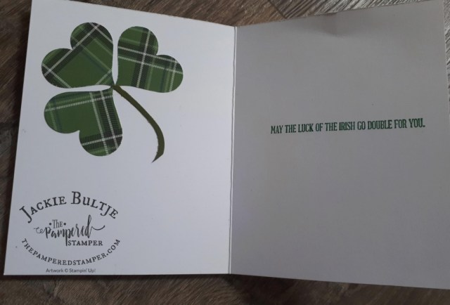 A word For Everything in this St Patrick's Day card