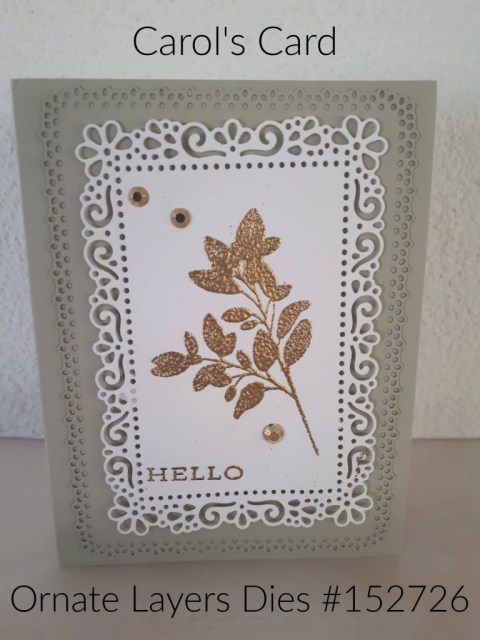 Ornate Layers card