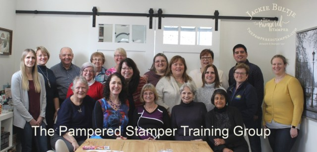 Pampered Stamper Training Group