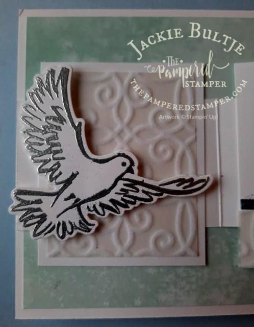 Dove of Hope inside detail